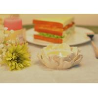 Wholesale Large Ceramic Candle Holder Houses / Ceramic Flower Candle Holder from china suppliers