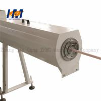 China 8 Ton Plastic Pipe Extrusion Line , PPR PE Pipe Extrusion Line Computerized on sale