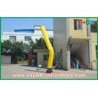 Wholesale Yellow Inflatable Guy , Advertisement Air Dancers Inflatables from china suppliers