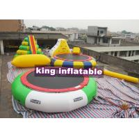 Wholesale Heat Sealing Blow Up PVC Water Combine Toys /  Tower Slide Iceberg Trampoline And Water Blob from china suppliers