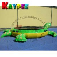 Wholesale Inflatable turtle water trampoline,water jumping trampoline,KWT006 from china suppliers