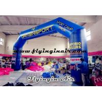 Wholesale 14m Giant Blue Inflatable Arch for Outdoor Advertisement and Events from china suppliers
