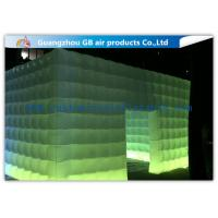 Wholesale Pvc Coated Nylon Inflatable Air Tent Square Tent Booth With Led Lighting from china suppliers