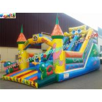 Wholesale Cute Spongebob Commercial Inflatable Slide , Inflatable Bouncer Castle Slide For Children from china suppliers