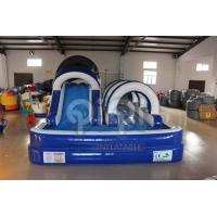 Wholesale Blue Inflatable Backyard Water Slide from china suppliers