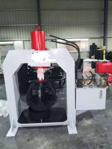 Wholesale Mobile Solid Tire Press Machine TP160 Placed On Van With Diesel Engine from china suppliers