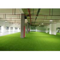 Wholesale Luxury Soft Artificial Grass For Your Home , Anti - Slip Plastic Grass Carpet from china suppliers