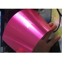 China Antibacterial Translucent Candy Powder Coat , Metal Surface Candy Pink Powder Coat on sale