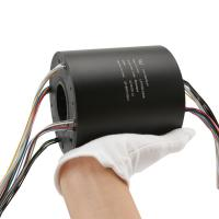 Buy cheap through bore slip ring 24 circuit 5A voltage 240VAC can be used in construction from wholesalers