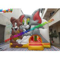 China Amazing Tom And Jerry Commercial Bouncy Castles Inflatable Jumping House Water - Proof on sale