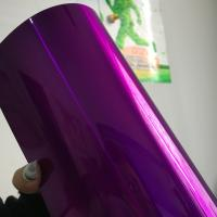 Wholesale Purple Candy Powder Coat Paint , Electrostatic Thermoset Epoxy Polyester Powder Coating from china suppliers