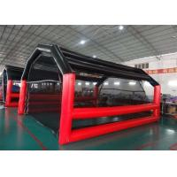 China Colorful Large Inflatable Tents Baseball Inflatable Batting Cage High Durability on sale