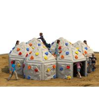 Wholesale Playground Kids Climbing Wall Outdoor Plastic With Climbing Stone from china suppliers