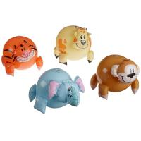 Wholesale OEM&ODM Inflatable Jungle Animal Shaped Beach Balls 12 Pack / Blow Up Pool Toys from china suppliers