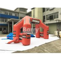 Wholesale Custom Inflatable Advertising Products Giant Welcome Start Finish Line Inflatable Entrance Arch from china suppliers