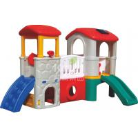 Wholesale Multi - Functional Fun Plastic Free Standing Kids Slide , Free Standing Equipment from china suppliers