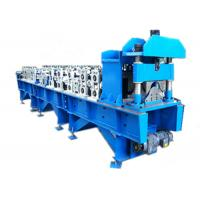 Wholesale Steel Ridge Cap Roll Forming Machine , Metal Roofing Roll Former For Construction from china suppliers