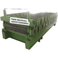 Wholesale Wall Panel Metal Roofing Corrugated Tile Making Machine Carbon Building Material 4kw Power from china suppliers