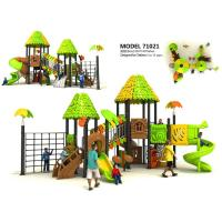 Wholesale Creez Jungle Style Children'S Playground Equipment With Rock Climber And Net Frame from china suppliers