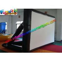 Wholesale Airtight Frame Inflatable Outdoor Movie Screen 0.6MM PVC Tarpaulin from china suppliers