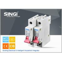 Wholesale Breaking capacity reach to 10000 voltage 230v/400V 20a 50HZ single pole small circuit breaker overload protection from china suppliers