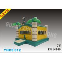China Commercial 0.55mm PVC tarpaulin Monkey Inflatable Bouncy, jumping Castle YHCS 012 on sale