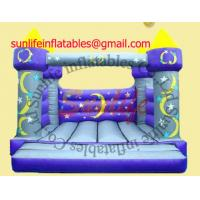 Wholesale inflatable 0.55mm pvc tarpaulin jumping castle BO048 from china suppliers