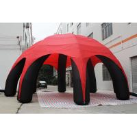 Buy cheap 10m Spider Advertising Inflatable Dome Tent for Advertisement from wholesalers