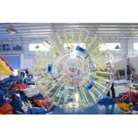 Wholesale PVC Or TPU Durable Inflatable Shinning Zorb Ball Used On Grassplot from china suppliers