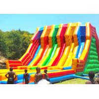 Wholesale Huge Shark Inflatable Slide With PVC Material / Blow Up Water Slide from china suppliers