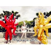 Wholesale Customized Party and Stage Decor Inflatable Flame Costumes for Adults from china suppliers