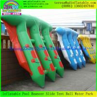 Wholesale Popular Funny Inflatable Towable Flying Fish Boat For Water Amusement  Equipment from china suppliers