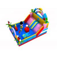 Wholesale Water Park Inflatable Castle Bouncer , Anti - Crack Commercial Inflatable Bouncer from china suppliers
